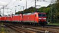 145 031-1 mit Lokzug, Köln-Gremberg 2015-10-10.JPG