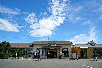 Kobuchizawa Station - Kobuchizawa Station in July 2015