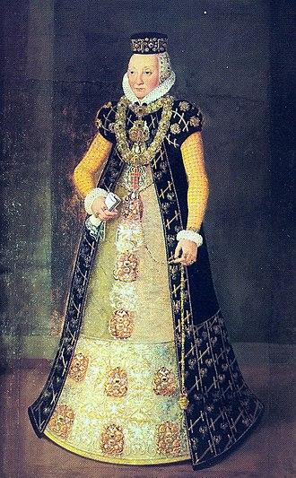 John Albert I, Duke of Mecklenburg - Princess Anna Sophia of Brandenburg