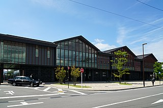 Naka-Karuizawa Station Railway station in Karuizawa, Nagano Prefecture, Japan