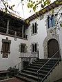 164 L'Enrajolada, Casa Museu Santacana (Martorell), façana que dona al jardí.jpg