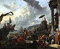 1669 Lingelbach Mediterrane Hafenszene anagoria.JPG