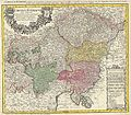 1747 Homann Heirs Map of Austria and Bohemia ( Czech Republic ) - Geographicus - Austriacus-hmhr-1747.jpg