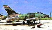 182d Tactical Fighter Squadron - North American F-100D-65-NA Super Sabre 56-3000