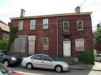 184 38th Street - Image: 184 38th Street Pittsburgh 2