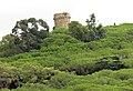 185 Torre dels Encantats, al puig Castellar, des de Caldetes.JPG