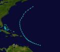 1889 Atlantic tropical storm 8 track.png