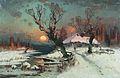 1891. Закат солнца зимой.jpg