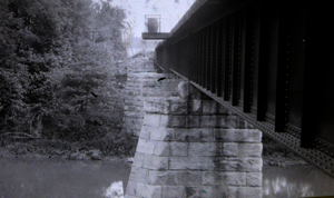 Monocacy River bridge and viaduct - 1915 ICC survey photo