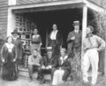 1915 group portrait of artists in East Gloucester Massachusetts by Charles Allen Winter.png