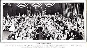 Alan E. Freedman - Image: 1922 Fox Folks Fox Management photo AEF 1st to L of Dias
