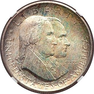 Cincinnati Musical Center half dollar - Cornelius Vermeule compared the Cincinnati coin with the Sesquicentennial half dollar.