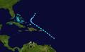 1931 Atlantic tropical storm 4 track.png
