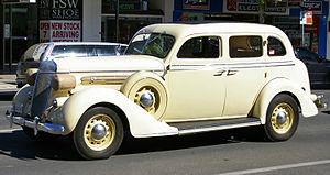 Chrysler Airstream - Image: 1936 Chrysler Airstream