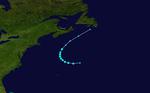 1948 Atlantischer Tropensturm 7 track.png