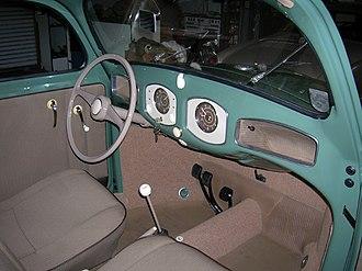Volkswagen Beetle - 1949 interior