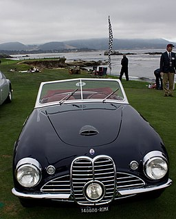 1951 Maserati A6G 2000 Frua Spyder (14872846247)