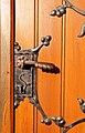 1951a Sopot, zespół urbanistyczny miasta. Klamka drzwi kościoła. Foto Barbara Maliszewska.jpg
