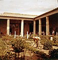 1958 Pompeii Courtyard Maurice Luyten.jpg