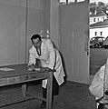 1958 visite d'une délégation INRA au Haras du Pin Cliché Jean Joseph Weber-41.jpg