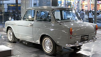 Toyota Publica - Toyota Publica DeLuxe (UP10D) rear view