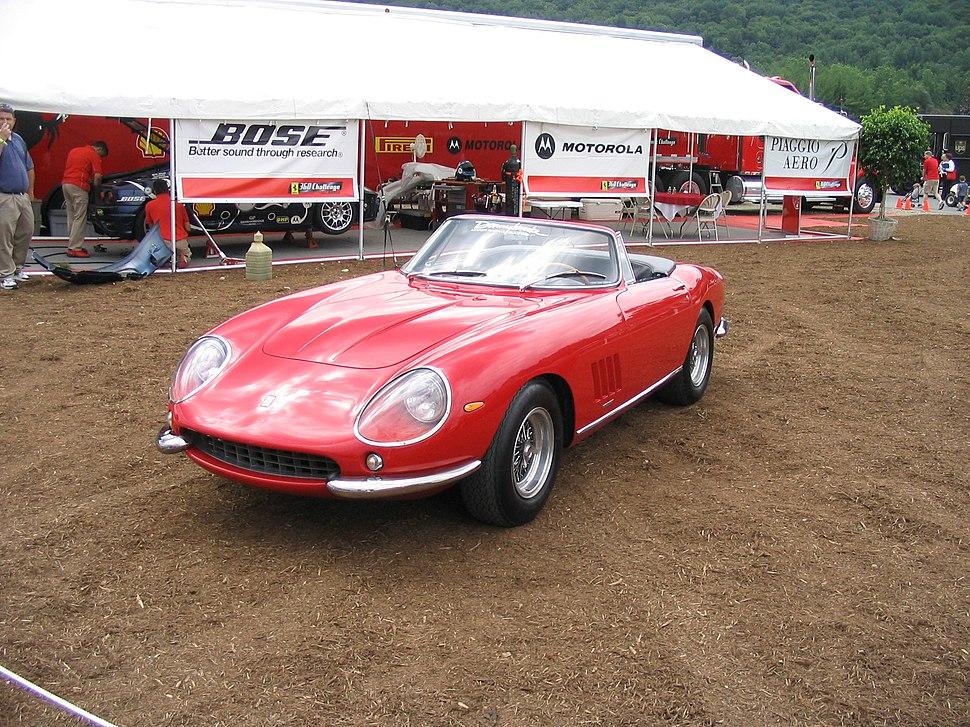 1967.Ferrari.275.GTB-4.NART.Spyder