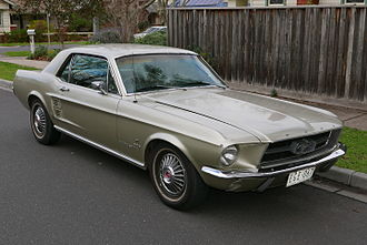 Ford Mustang - 1967 hardtop
