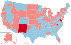 United States House of Representatives elections, 1968 - Image: 1968 House Districts