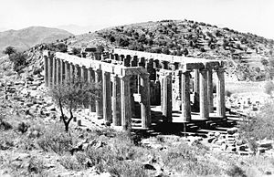 Hypaethral - Temple of Apollo Epikourios at Bassae (Greece)
