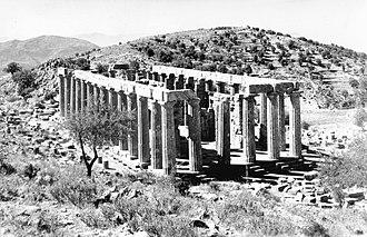 Hypaethral - Temple of Apollo Epikourios at Bassae (Greece)