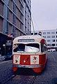 1983 SF Historic Trolley Festival - ex-St Louis PCC 1704 in 11th St wye.jpg