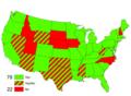 1983 U.S. Senate vote on MLK Jr. Day.png