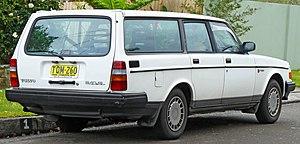 Volvo 200 Series - 1988–1991 Volvo 240 GL wagon (rear)