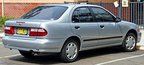 File:1998-2000 Nissan Pulsar (N15 S2) LX sedan 04.jpg