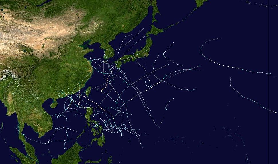 1999 Pacific typhoon season summary
