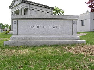 Harry Frazee - Harry Frazee's grave in Kensico Cemetery