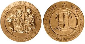 Chester Nez - Image: 2000 Navajo Code Talkers Congressional Gold Medal