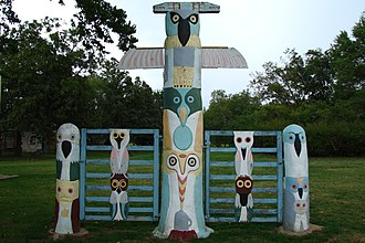 Rogers County, Oklahoma - Image: 2006 08 23 Road Trip Day 31 United States Oklahoma Foyil Route 66 Ed Galloway's Totem 4889676280