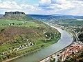 20080413145DR Königstein (Sächsische Schweiz) Festung + Lilienstein.jpg