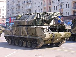 2008 Moscow May Parade Rehearsal - Tor SAM.JPG
