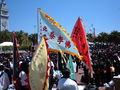2008 Olympic Torch Relay in SF - Justin Herman Plaza 10.JPG
