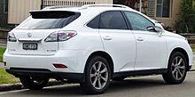 Pre Facelift Lexus RX 350