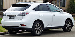 2009-2010 Lexus RX 350 (GGL15R) Sports Luxury wagon 04.jpg