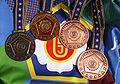 2010 European Judo Championships medals.JPG