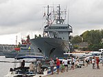 2013-08-30 Севастополь. Вспомогательное судно A512 Mosel ВМС Германии (2).JPG