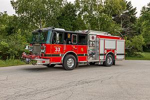 Seagrave Fire Apparatus - 2014 Seagrave Marauder II - Streamwood Fire Department - Illinois
