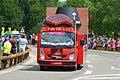 2014 Tour de France. Caravane Pub Courte paille 3. Free image Spielvogel. No copyright..jpg