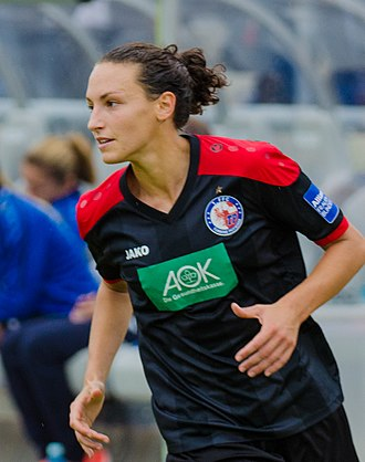 Ilaria Mauro - Mauro playing for Turbine Potsdam in September 2015