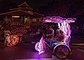 2016 Malakka, Kolorowe riksze rowerowe na Placu Holenderskim (08).jpg