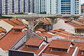 2016 Singapur, Chinatown, Dach nad Chinatown Food Street.jpg